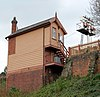 Bewdley signal box (rear view) - geograph.org.uk - 1255884.jpg