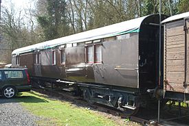 GWR Churchward 57 Passenger Brake No.261 (7047804459).jpg