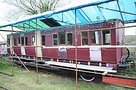 Preserved coach at Hampton Loade - geograph.org.uk - 1709969.jpg